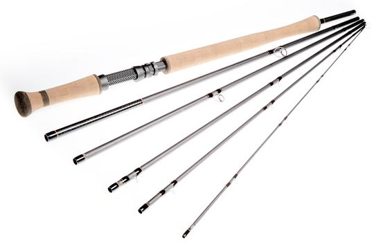 Double handed 12ft7in 8 wt, 6 piece
