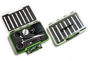 Waterproof fly box tool set