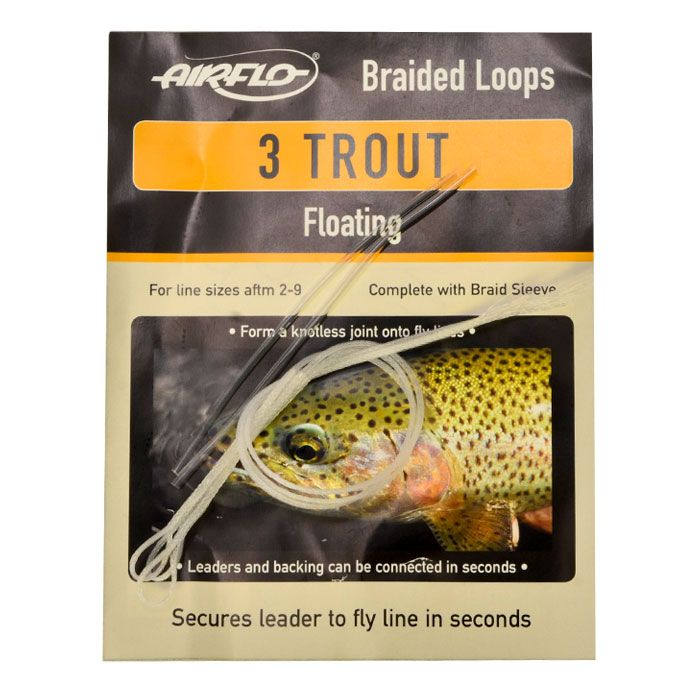 Braided loops trout