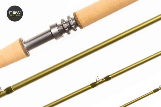 Double handed nx1 , 13 ft 8wt, 4 piece